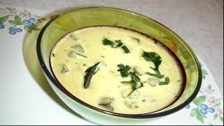 Healthy Gujarati Kadhi Recipe Video- Hot Yogurt Soup by Bhavna