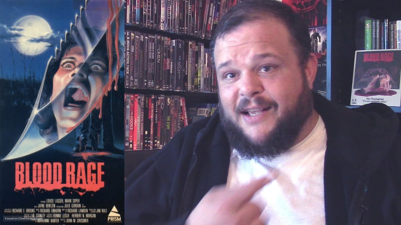 Download Blood Rage (1987) movie review horror slasher Arrow blu-ray