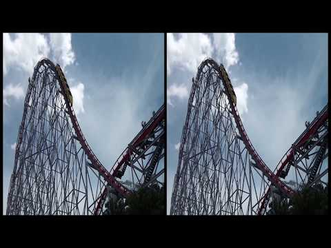 VRin - Virtual Reality Roller Coaster #1 - 3D - SBS - google cardboard