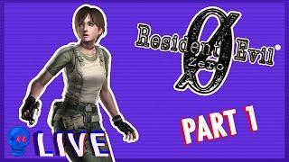 Resident Evil 0 (GC) PART 1   SSFF Live