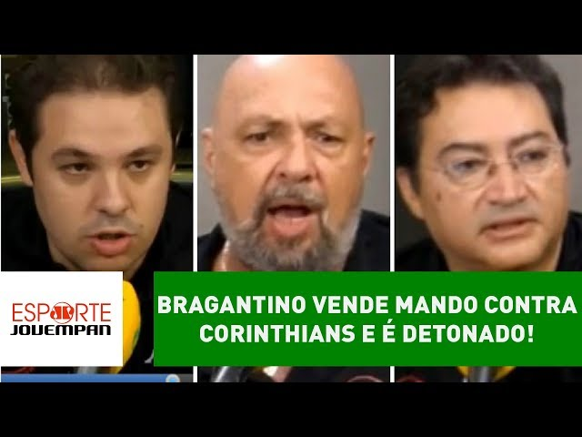 Bragantino VENDE mando contra Corinthians e é DETONADO!