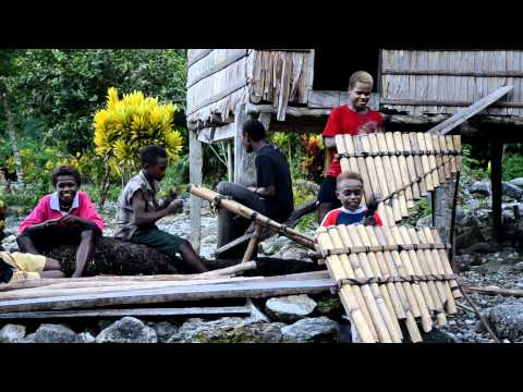 Kwaio musicians, Malaita, Solomon Islands