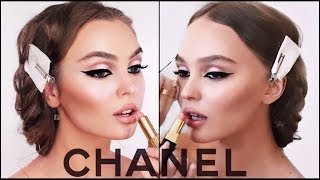 Lily-Rose Depp Makeup Tutorial | CHANEL vs Drugstore Dupes!