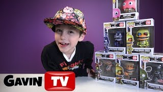 FNAF FunkoPop Wave 2 and Exclusives   Five Nights at Freddy's Toy Haul