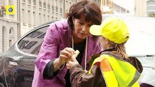 Doris Leuthard als Botschafterin «Rad steht, Kind geht»