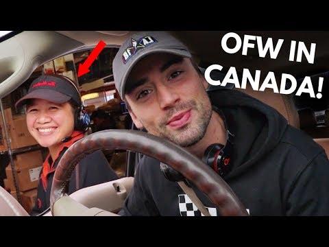 OVERSEAS FILIPINO WORKERS IN CANADA!! (SPEAKING TAGALOG)