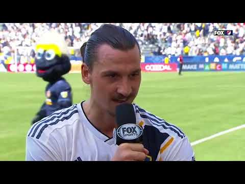 Zlatan Ibrahimovic Post Match Interview After game For LA Galaxy 4-3 2018
