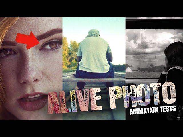 Animated photos / Оживленные фотографии ||My Portfolio