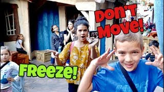 In Real Life MUSEUM STATUES | DONT MOVE!