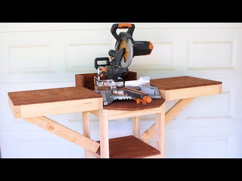 mobile-miter-saw-station