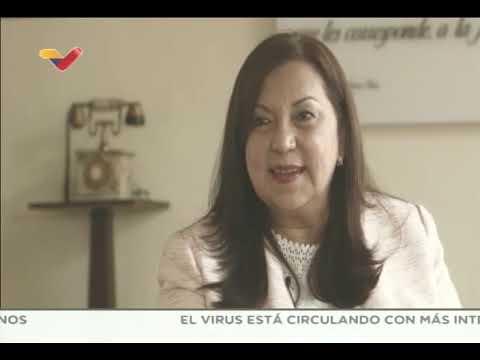 Carmen Meléndez entrevistada en Aquí con Ernesto Villegas, 25 de abril de 2021