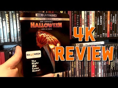 Halloween (1978) 4K UltraHD Blu-ray Review | Dolby Vision HDR | Dolby TrueHD 7.1