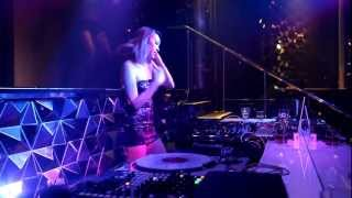 When Nicole Chen DJs At Club Cubic Macau 01.09.2012