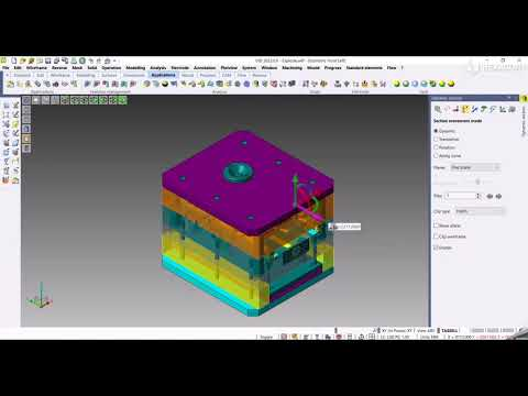 CAD - Dynamic section improvements | VISI 2022.0
