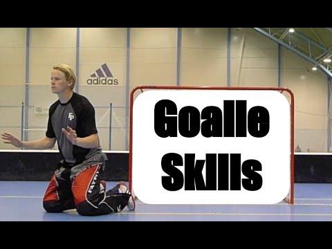 Goalie Technik Unihockey