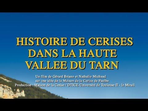 Histoire de cerises dans la Haute vallée du Tarn