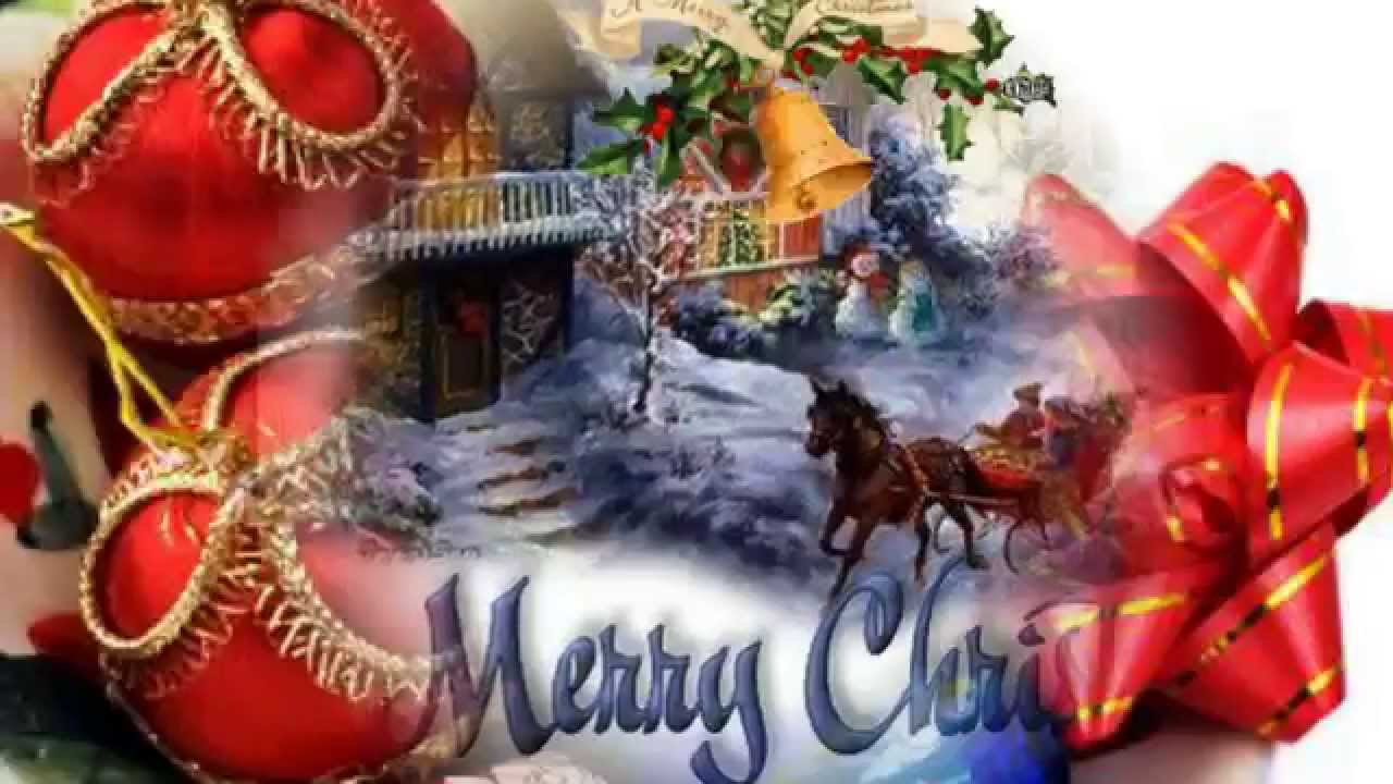 Merry Christmas Christmas Greeting Video Animation Happy New