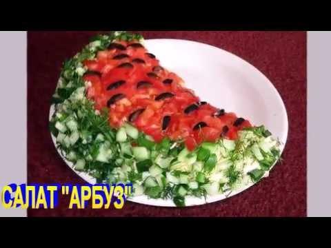 Рецепт салата Овощной салат с копченой куриной грудкойиз YouTube · Длительность: 33 с