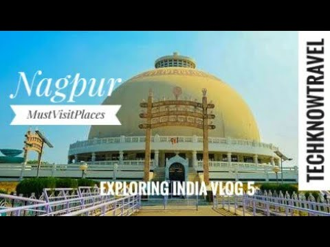 Nagpur City Tour | Famous places | STREET FOOD | Travel Vlog