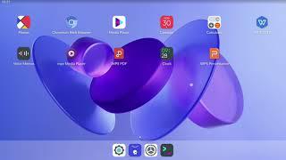 아이패드를 닮은, 태블릿용 리눅스 배포본 - JING …