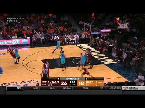 Oklahoma State vs Texas A&M Men's Basketball Highlights