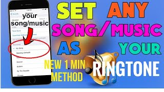 How to set custom/song ringtones in iphone[set any custom ringtone]tutorial just 2 min