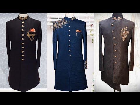 Most Attractive Wedding Sherwani Dress 2020 | Beautiful Sherwani Design | Men's New Sherwani
