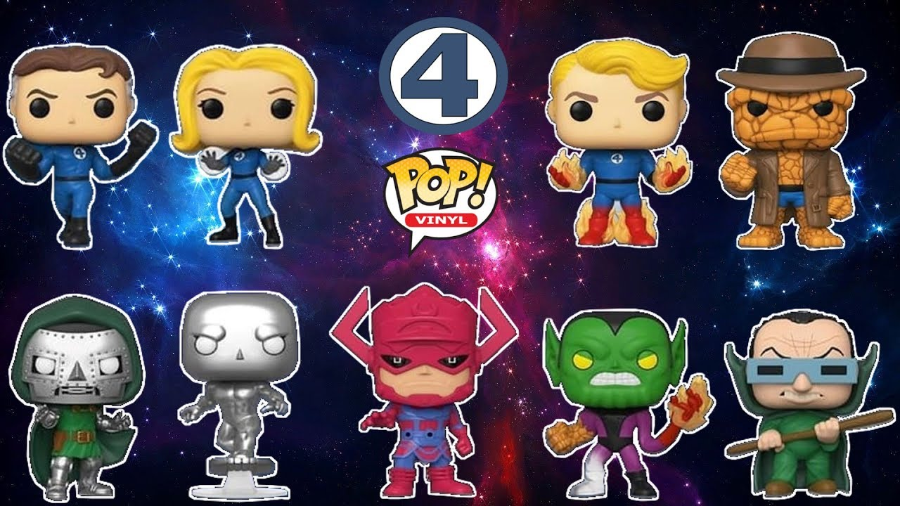 Funko Marvel Fantastic Four Galactus Vinyl Figure POP