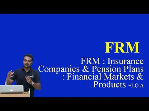 2017: FRM : Insurance Companies and Pension Plans : Financial Markets and Products -LO A