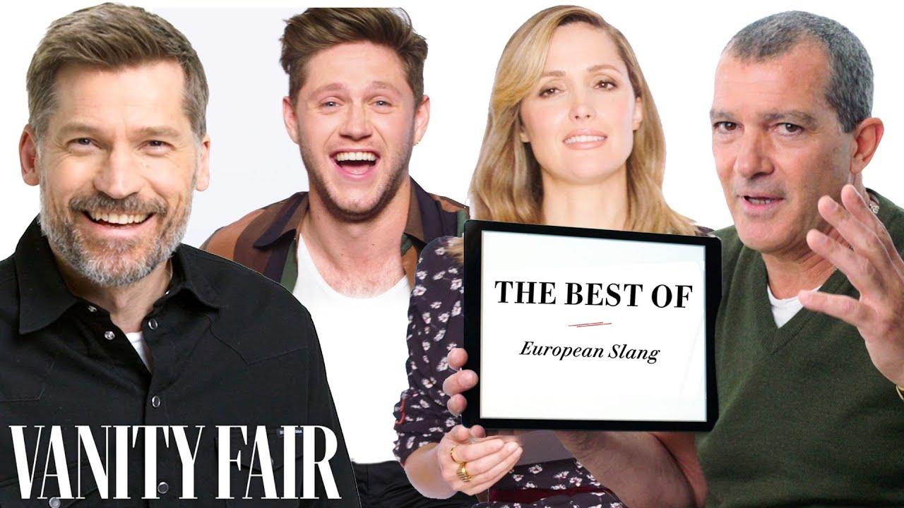 Niall Horan, Nina Dobrev, & Antonio Banderas Teach You the Best European Slang