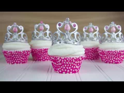 How To Make A Princess Crown Cupcake Topper  Sneak Peak