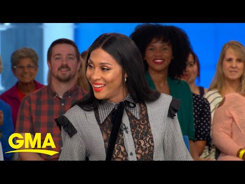Mj Rodriguez celebrates Pride Month on 'GMA' l GMA