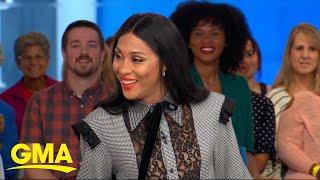 Mj Rodriguez celebrates Pride Month on 'GMA' l GMA