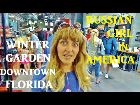 WINTER GARDEN Florida, Full Tour, DOWNTOWN, Farmers Market (2018)