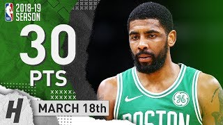 Kyrie Irving Full Highlights Celtics vs Nuggets 2019.03.18 - 30 Pts, 4 Ast, 5 Reb!