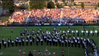 Cass Football Combined marching bands of Cartersville and Cass