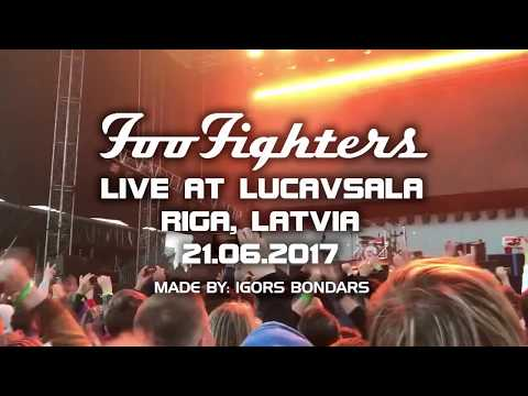 Foo Fighters Live at Lucavsala - Riga, Latvia - FULL 3H SHOW