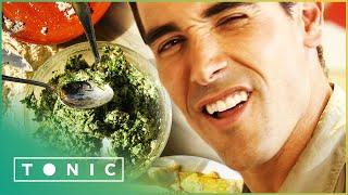 Cheesy Spinach Risotto Recipe  David Rocco&#39s Dolce Vita S1E4  Tonic