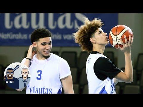 LiAngelo and LaMelo Ball scoreless in Lithuanian league debut | Jalen & Jacoby | ESPN