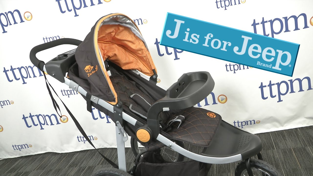 J Is For Jeep Cross Country All Terrain Jogging Stroller From
