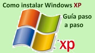 Instalar Windows XP Professional Tutorial completo.