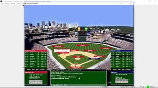 Pure Sim Baseball inaugural game 68 Replay Detroit vs California Angels