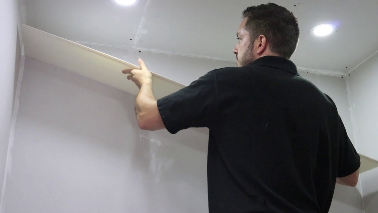 The EASY Way To Fit Bathroom Wall Panels - YouTube
