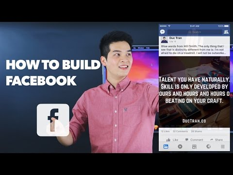 How to Build Facebook Newsfeed - iOS Development Tutorial with Swift - How to Make an App