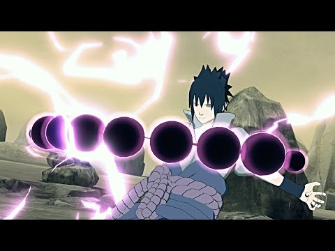 RIKUDOU SASUKE! Rinnegan Sasuke Six Paths NEW Moveset MOD-NARUTO SHIPPUDED: Ultimate Ninja STORM 4
