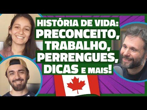 Casal conta sua história de vida no CANADÁ - Perrengues, Trabalho, Preconceito, Inglês e muito mais!
