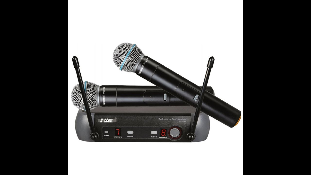 5 Core Wireless Microphone Mic Pgvx Youtube Receiver Circuit
