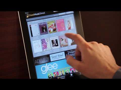 Sheet Music Direct promo vid