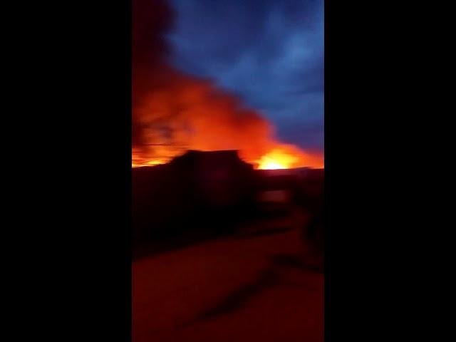 В Самаре сгорел дом