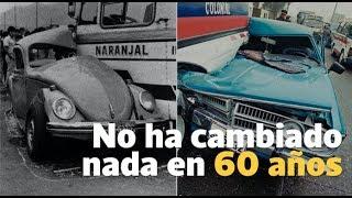 El caos del transporte no ha cambiado en 60 años   El Comercio